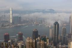 Aussicht am Peak in Hongkong