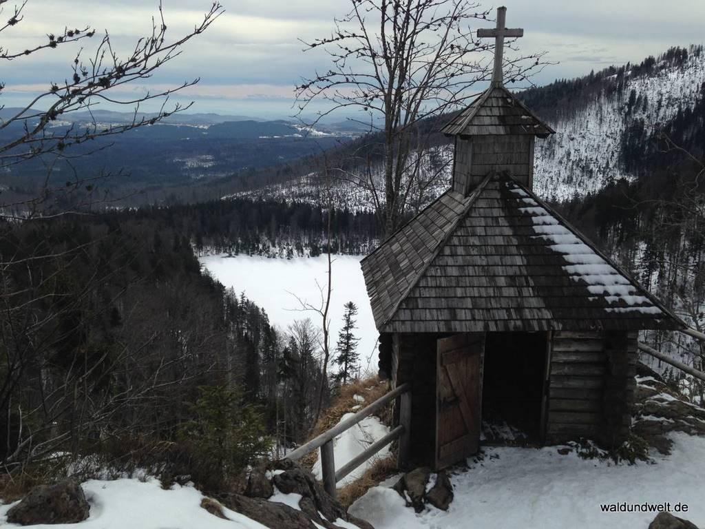 Rachelkapelle und Rachelsee