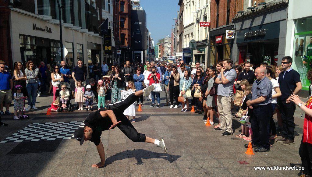 Stadtrundgang in Dublin