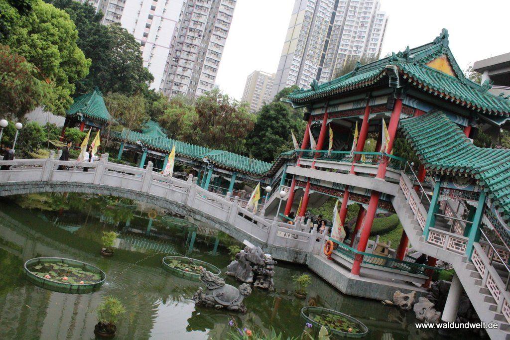 Garten im Wong-Tai-Sin-Tempel