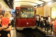 Die Peak Tram in Hongkong