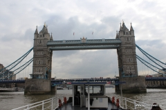 Bootsfahrt auf der Themse
