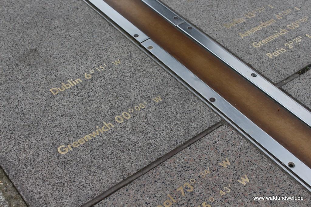 Durch das Royal Observatory in Greenwich verläuft der Nullmeridian.