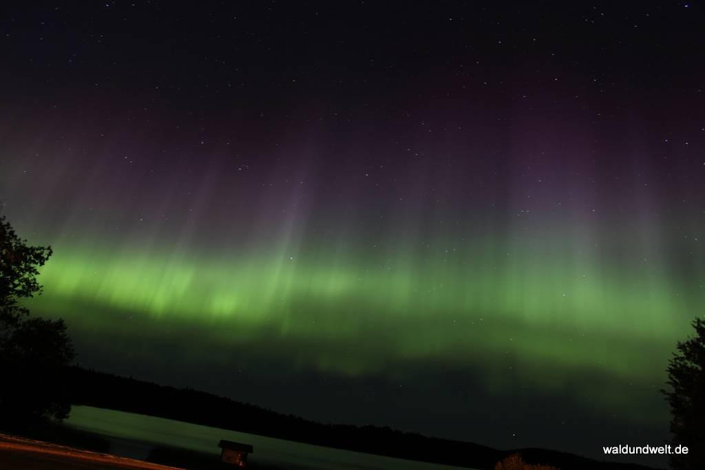 Nordlicht über Saskatchewan in Kanada