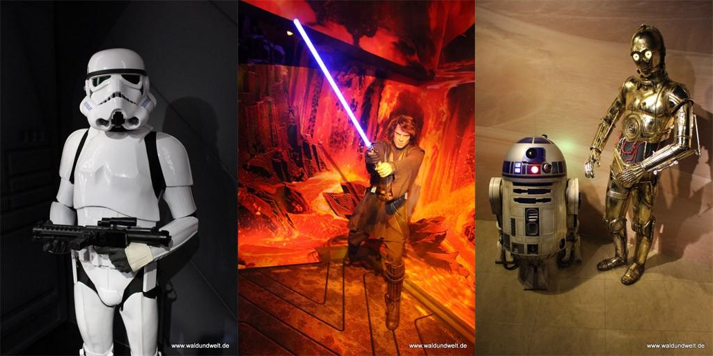Star Wars regiert derzeit bei Madame Tussauds.