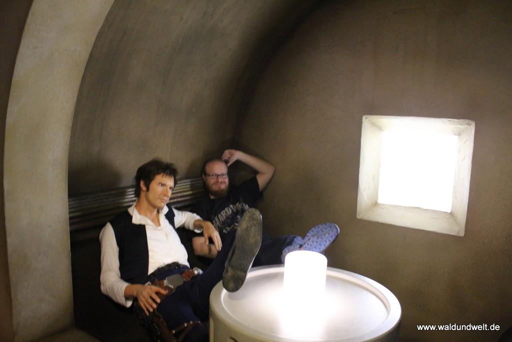 Einmal mit Han Solo am selben Tisch sitzen...