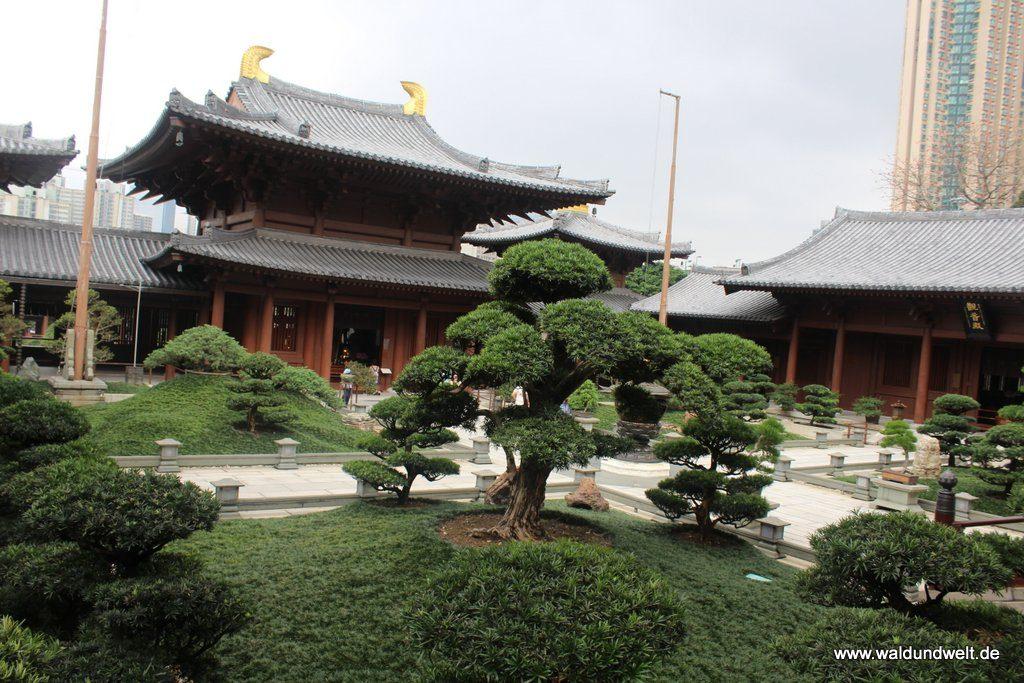 Innenhof im Chi-Lin-Nonnenkloster