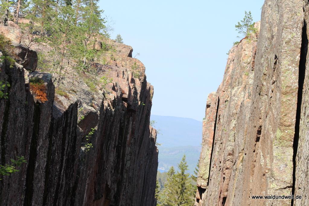 Wanderung im Nationalpark Skuleskogen: Slattdalsskreven