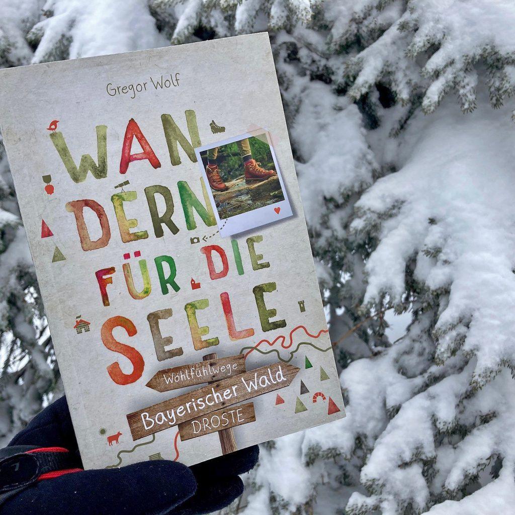 Buchcover: Bayerischer Wald. Wandern für die Seele