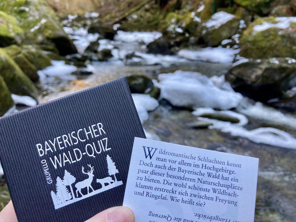 Eine Frage aus dem Bayerischer Wald Quiz