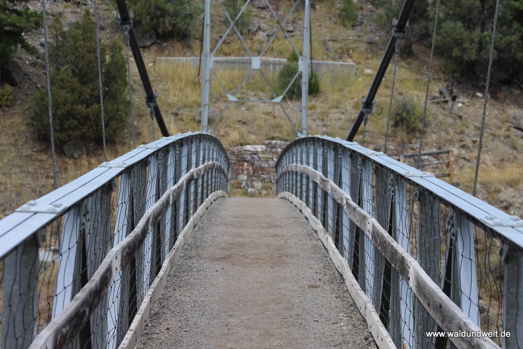 Brücke über den Yellowstone River.